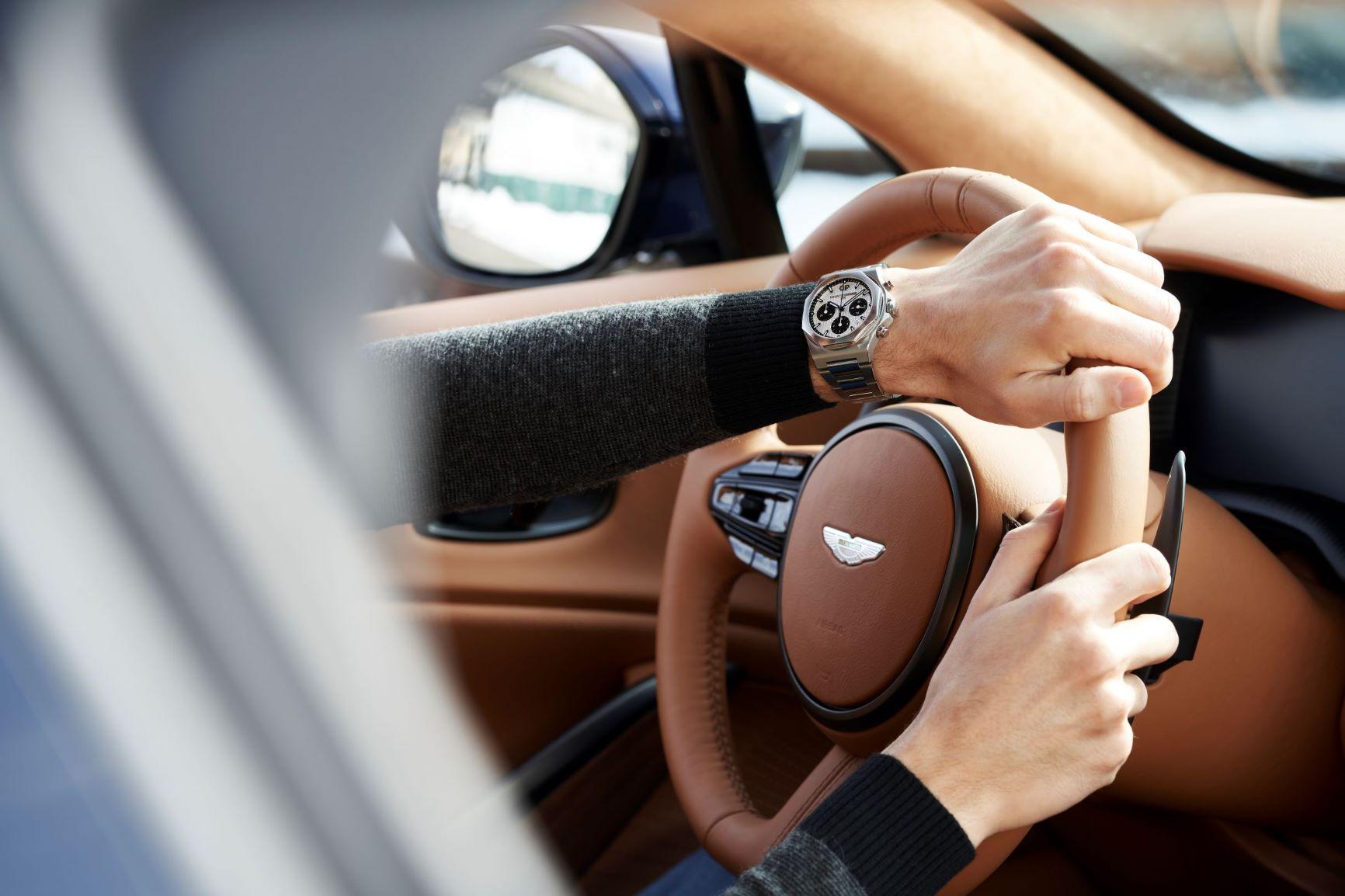 Laureato Chronograph Steel 1 & Aston Martin
