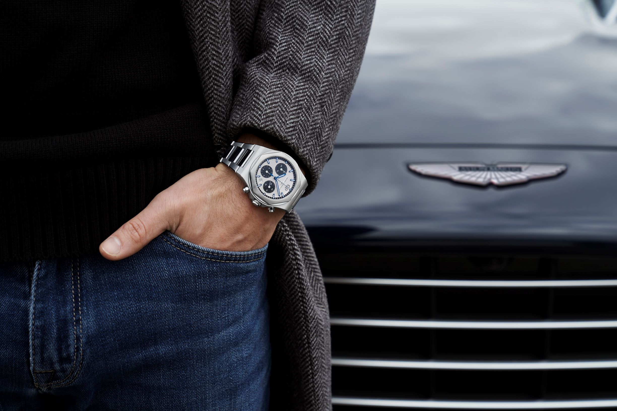 Laureato Chronograph Steel 2 & Aston Martin