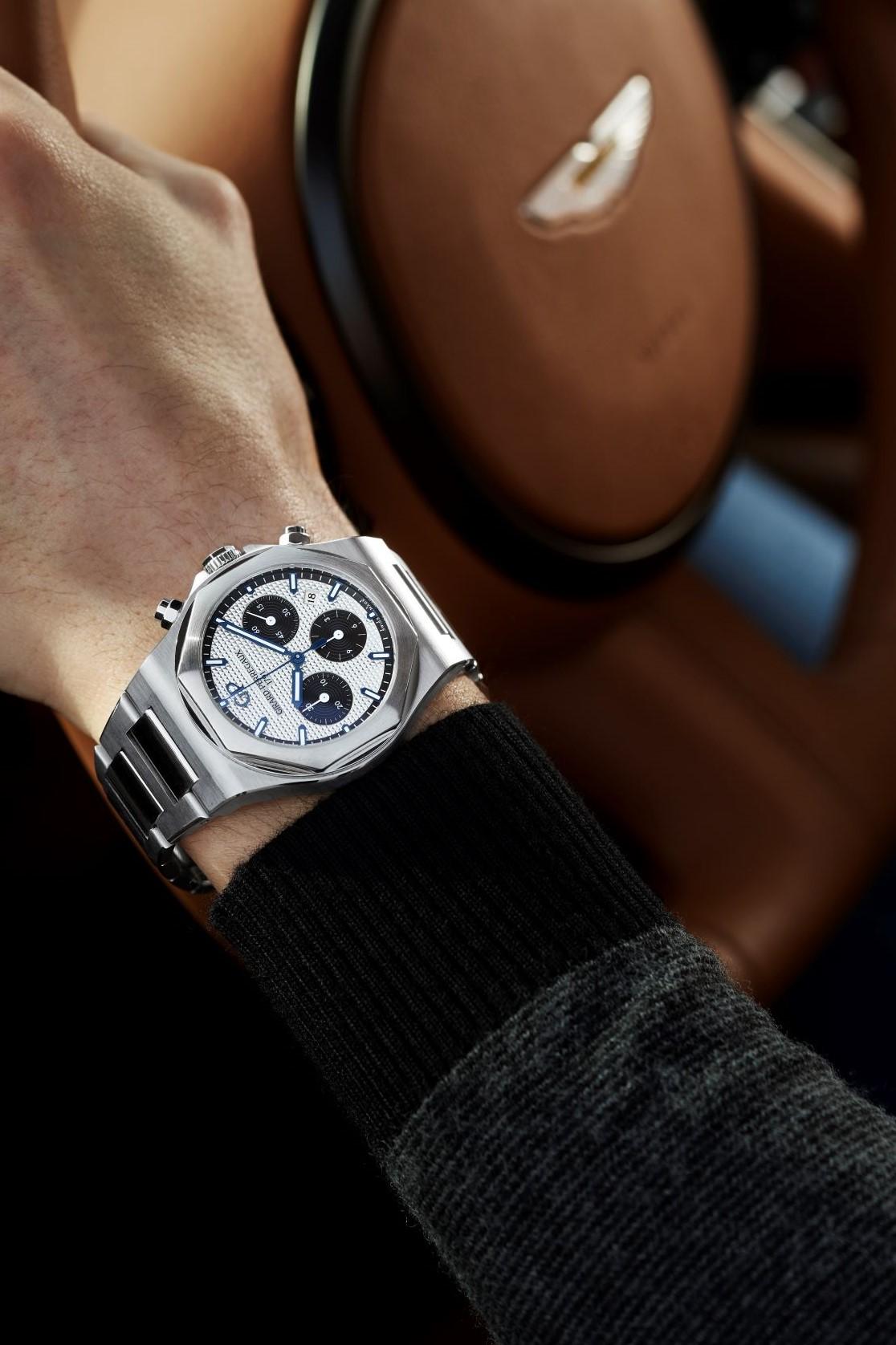 Laureato Chronograph Steel 3 & Aston Martin