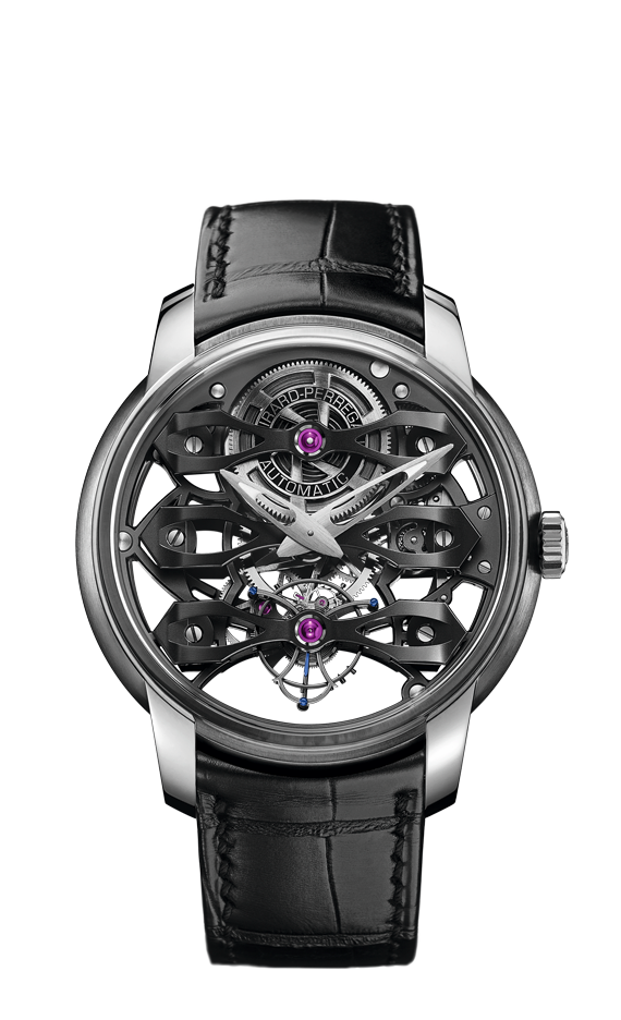 Neo-Tourbillon with Three Bridges Skeleton