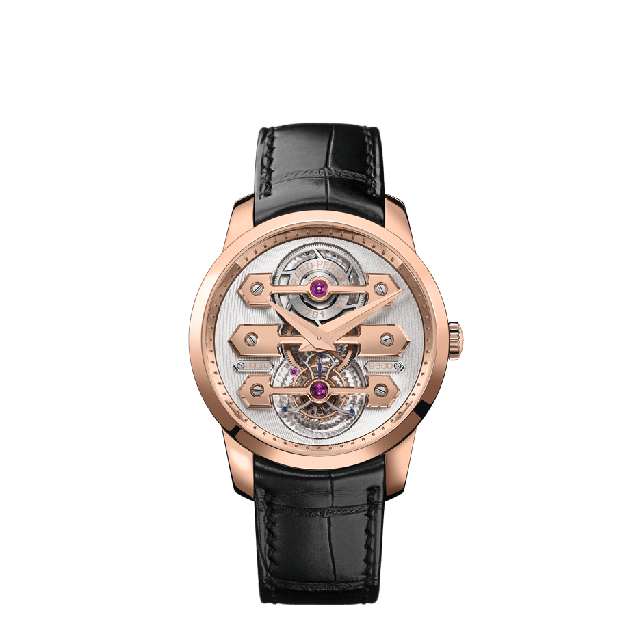 Tourbillon with Three Gold Bridges 40mm