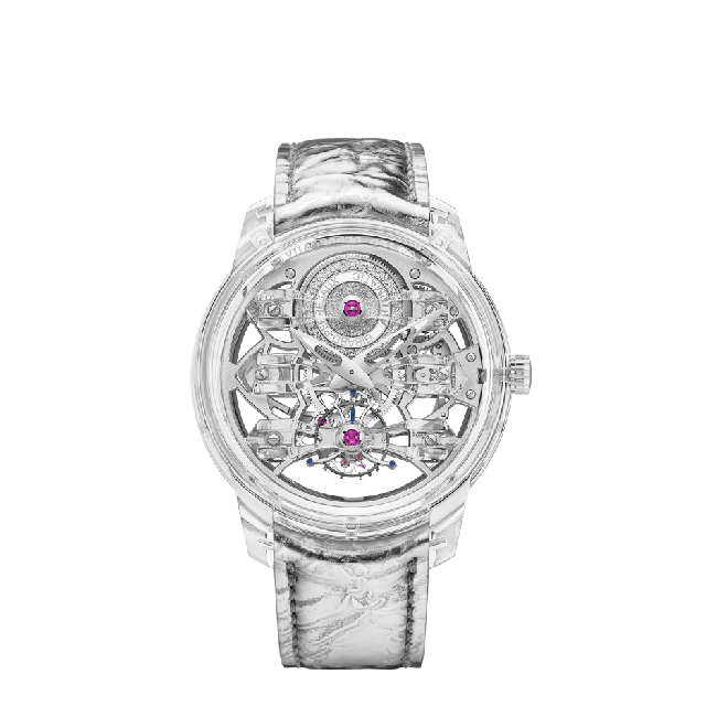 Quasar Light Tourbillon with Three Bridges