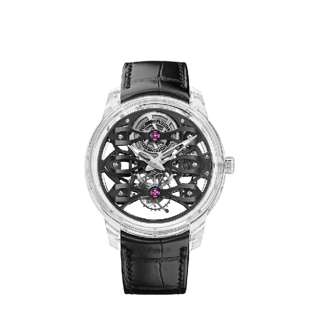 Quasar Tourbillon with Three Bridges