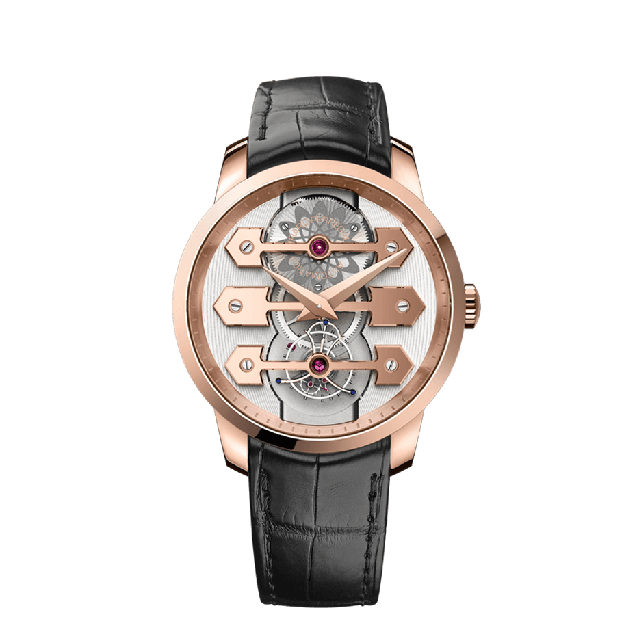 Tourbillon with Three Gold Bridges 45 mm